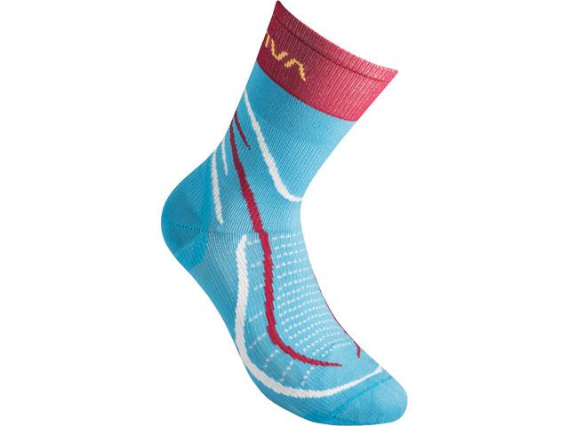 La Sportiva Sky Socks, malibu blue/berry